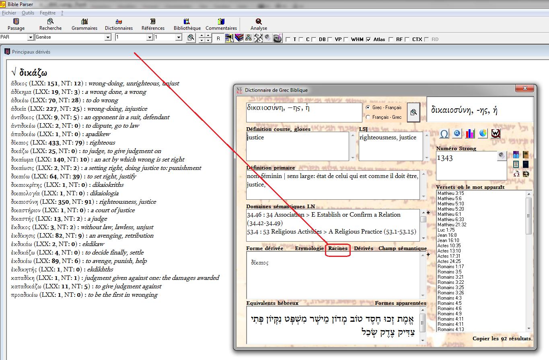Bible Parser Les Langues De La Bible à Portée De Clic Biblical