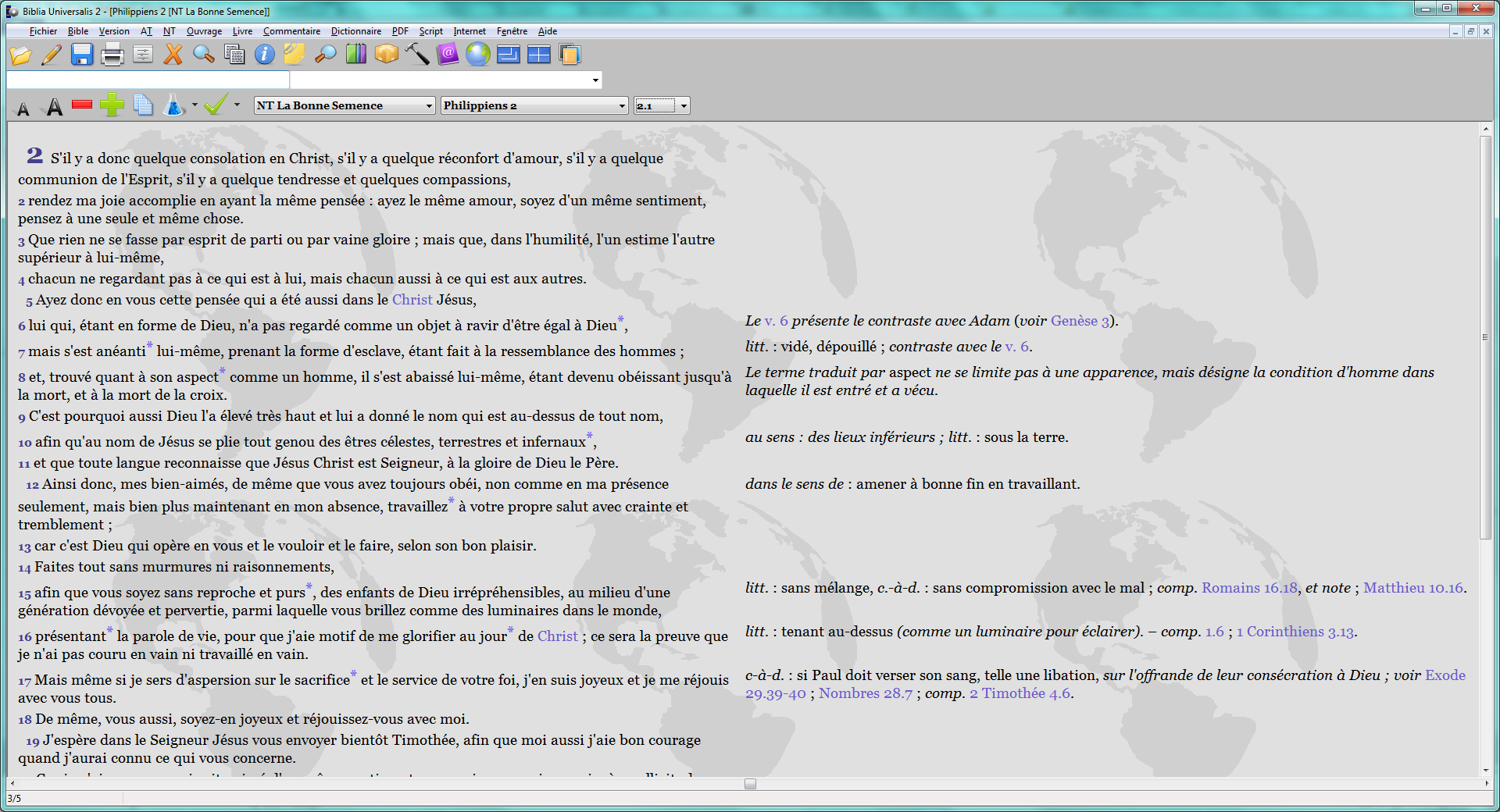 logiciel concordance biblique